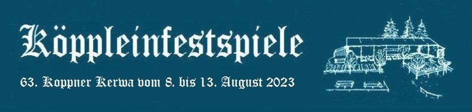 62. Koppner Kerwa vom 6. bis 12. August 2019